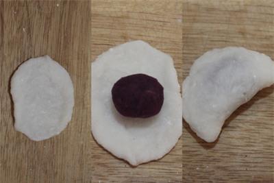 Ngon lạ món bánh bột lọc khoai lang 10