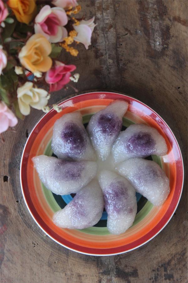 Ngon lạ món bánh bột lọc khoai lang 17