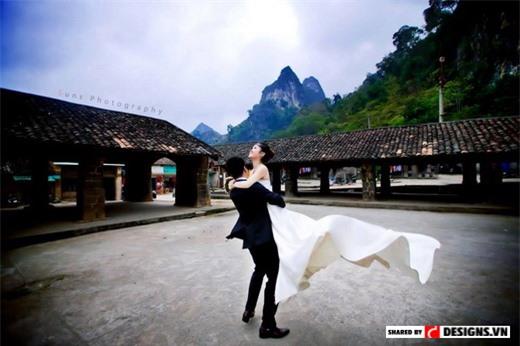 Chụp ảnh cưới ở Đồng Văn