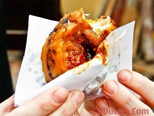 You Dunzi - Bánh củ cải chiên