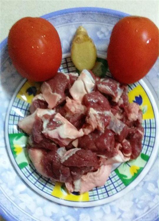 Thịt bò kho gừng cà chua